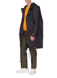 Feng Chen Wang Detachable panel pants
