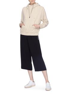 Vince Pleated crepe culottes