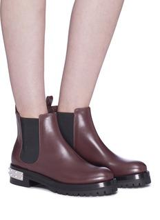 Alexander McQueen 'Mod' leather Chelsea boots