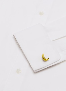 Babette Wasserman Banana cufflinks