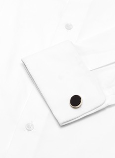 Babette Wasserman Deco Plain cufflinks