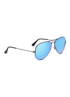 Ray-Ban 'RB3025' mirror aviator sunglasses