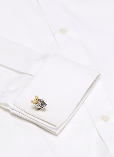 Tateossian King Skull cufflinks