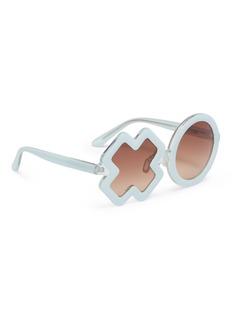 Sons+Daughters Eyewear 'XO' frame acetate mirror kids sunglasses