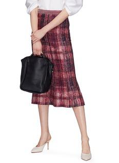A-Esque 'Basket Midi' leather bag