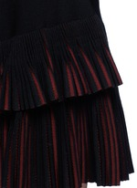 'Seguidille' plissé pleat knit skirt