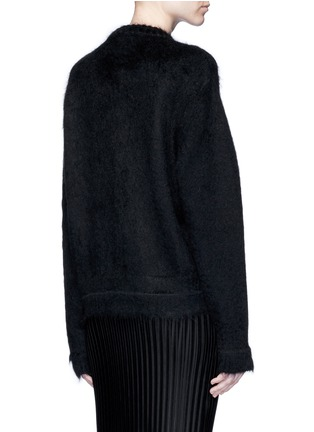 Back View - Click To Enlarge - Givenchy - 'LOVE' Mohair-wool sweater