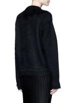 'LOVE' Mohair-wool sweater