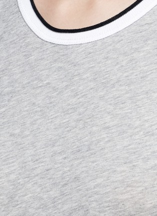 Detail View - Click To Enlarge - rag & bone/JEAN - Contrast rib crew neck T-shirt