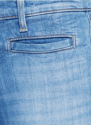 Detail View - Click To Enlarge - J Brand - 'Skeyla' cropped skinny capri denim pants
