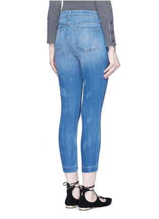 Back View - Click To Enlarge - J Brand - 'Skeyla' cropped skinny capri denim pants