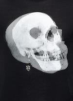 Optic skull print jersey T-shirt