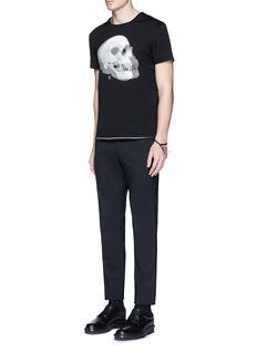 Alexander McQueenOptic skull print jersey T-shirt