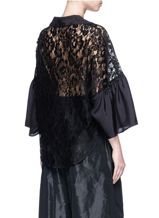 Back View - Click To Enlarge - Tome - Floral lace blouse