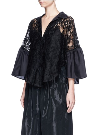 Front View - Click To Enlarge - Tome - Floral lace blouse