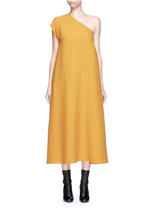 Main View - Click To Enlarge - Tome - One-shoulder crepe dress