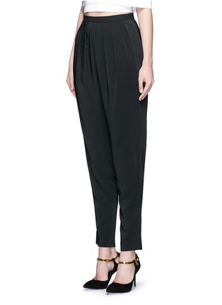Front View - Click To Enlarge - Rosetta Getty - Pleat front harem pants