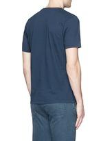 'D-VII Camo' print cotton T-shirt