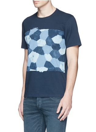 Front View - Click To Enlarge - Denham - 'D-VII Camo' print cotton T-shirt