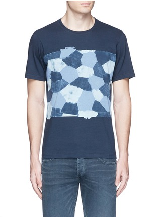 Main View - Click To Enlarge - Denham - 'D-VII Camo' print cotton T-shirt