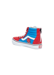 Vans x Marvel 'Sk8-Hi Zip' Spider-Man print kids sneakers