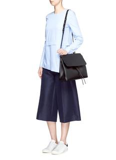 MANSUR GAVRIEL'Lady' large contrast metallic lining leather bag