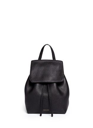 Main View - Click To Enlarge - Mansur Gavriel - Mini tumbled leather backpack