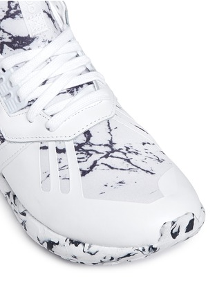 Detail View - Click To Enlarge - Adidas - 'Tubular Runner' marble print sneakers