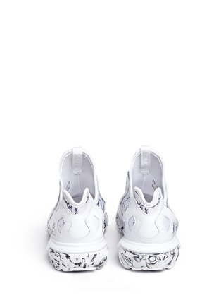 Back View - Click To Enlarge - Adidas - 'Tubular Runner' marble print sneakers