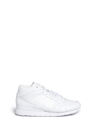 Adidas - 'ZX500 Hi' leather sneakers