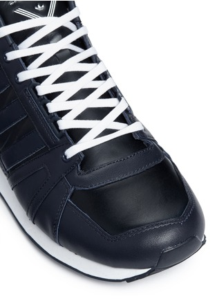 Detail View - Click To Enlarge - Adidas - 'ZX500 Hi' leather sneakers