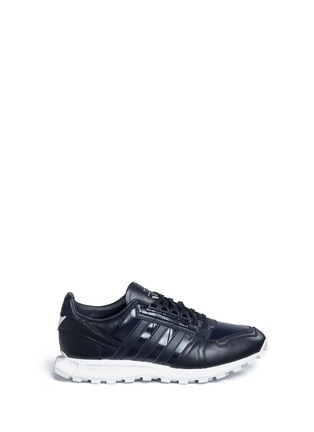 Adidas By White Mountaineering - 'Formel 1' leather sneakers