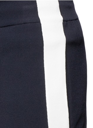 Detail View - Click To Enlarge - Valentino - Side stripe bonded jersey pants