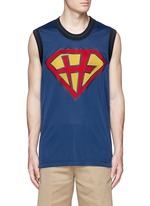'Super-H' Superman basketball tank