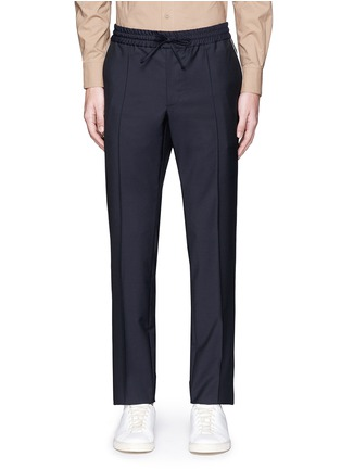 Main View - Click To Enlarge - Valentino - Side piping jogging pants