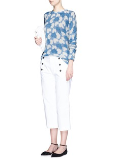 EQUIPMENT'Sloane' heart intarsia cashmere sweater