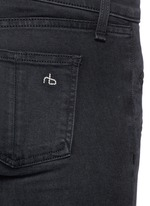 'RBW 23' zip cuff washed jeans