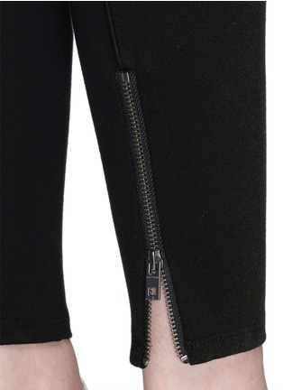 Detail View - Click To Enlarge - rag & bone/JEAN - 'Reilly' zip cuff leggings