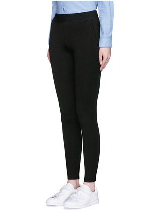 Front View - Click To Enlarge - rag & bone/JEAN - 'Reilly' zip cuff leggings