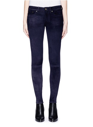Main View - Click To Enlarge - rag & bone/JEAN - 'Skinny' suede pants