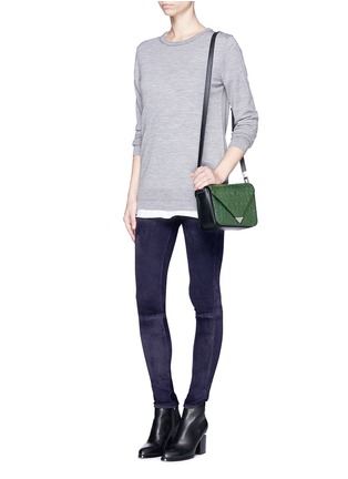 Figure View - Click To Enlarge - rag & bone/JEAN - 'Skinny' suede pants