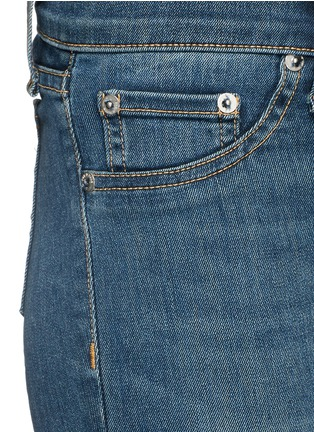 Detail View - Click To Enlarge - rag & bone/JEAN - 'Skinny' light wash jeans