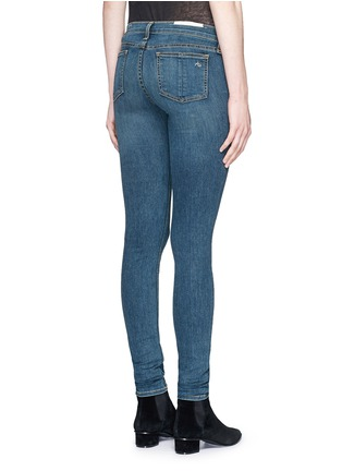 Back View - Click To Enlarge - rag & bone/JEAN - 'Skinny' light wash jeans