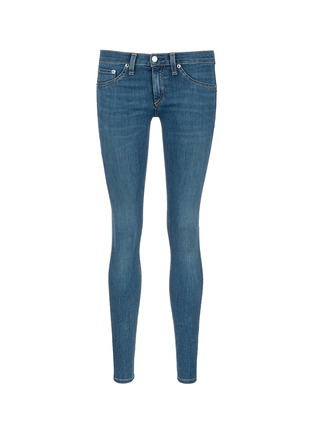Main View - Click To Enlarge - rag & bone/JEAN - 'Skinny' light wash jeans