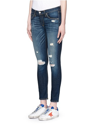 Front View - Click To Enlarge - rag & bone/JEAN - 'Capri' cropped skinny jeans