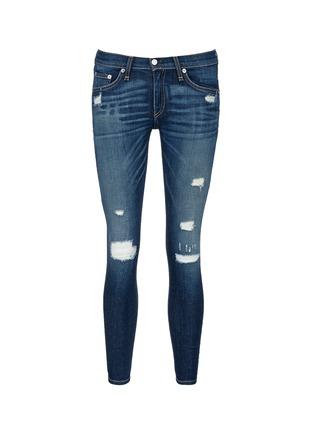 rag & bone/JEAN-'Capri' cropped skinny jeans