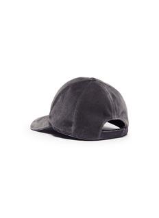 Maison Michel 'Tiger' velvet baseball cap