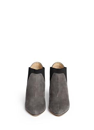 Figure View - Click To Enlarge - Jimmy Choo - 'Declan' elastic suede booties