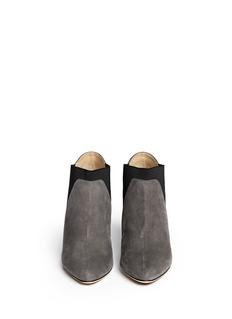 JIMMY CHOO'Declan' elastic suede booties
