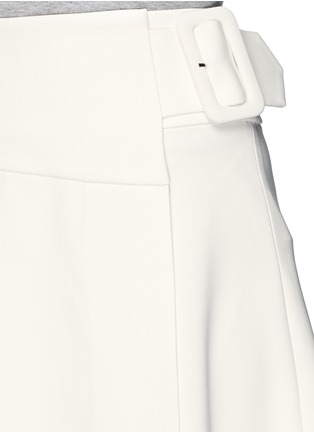 Detail View - Click To Enlarge - MO&CO. EDITION 10 - Asymmetric wrap flare skirt